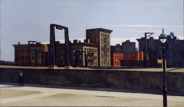 Manhattan Bridge Loop - Edward Hopper