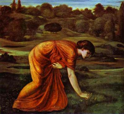 March Marigold - Edward Coley Burne Jones
