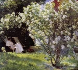 Marie Kroyer Garden - Peter Severin Kroyer