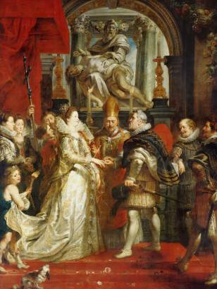 Marriage - Peter Paul Rubens