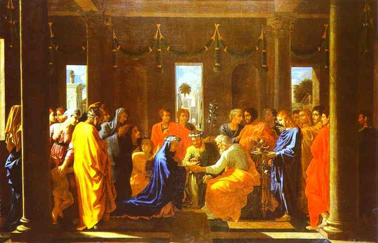 Marriage of the Virgin - Nicolas Poussin