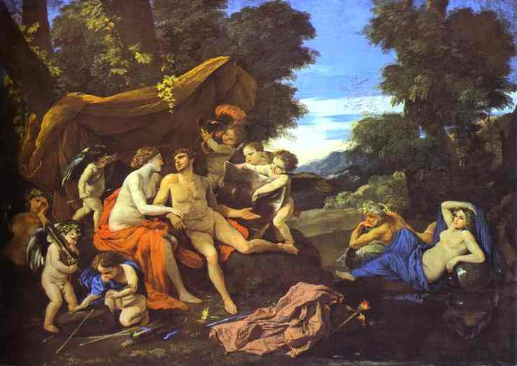 Mars and Venus - Nicolas Poussin
