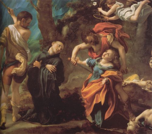 Martyrdom of Four Saints - Correggio
