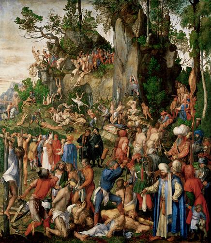 Martyrdom of Ten Thousand 1508 - Albrecht Durer
