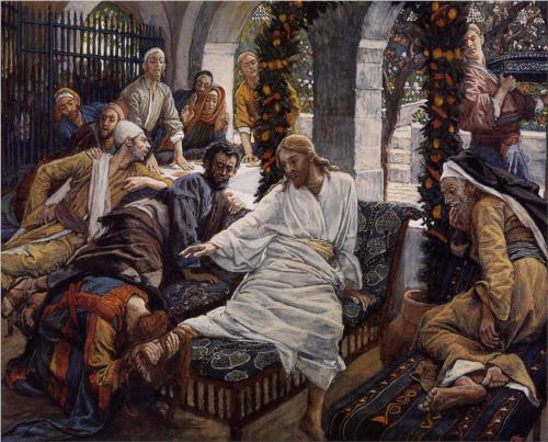 James Tissot - Mary Magdalene's Box of Very Precious Ointment