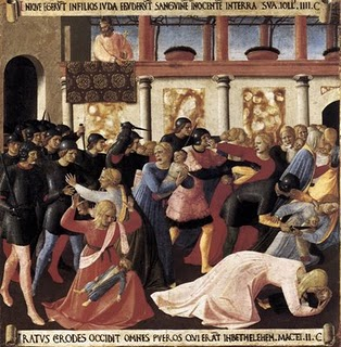 Massacre of the Innocents - Fra Angelico