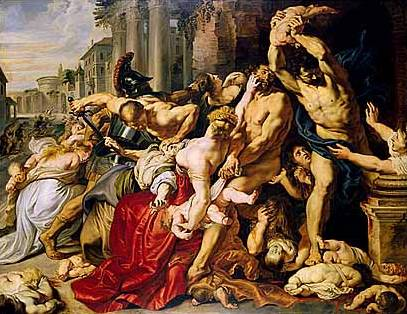 The Massacre of the Innocents - Peter Paul Rubens