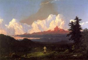 Memory of Cole - Frederic Edwin Church