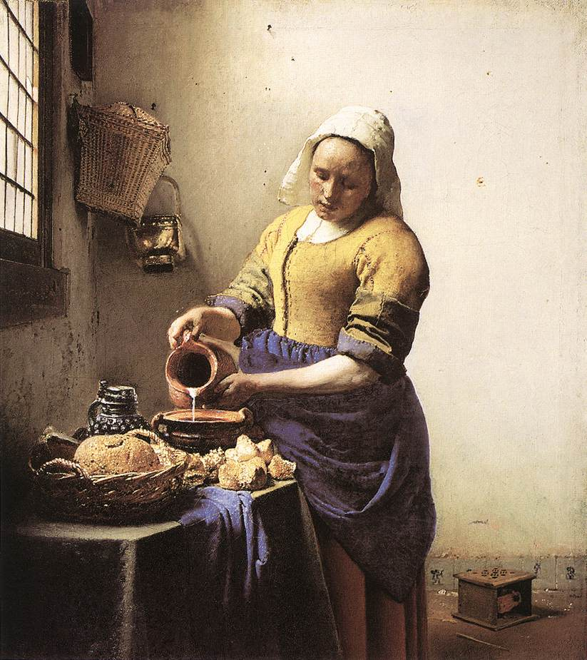 Milk Maid - Jan Vermeer van Delft
