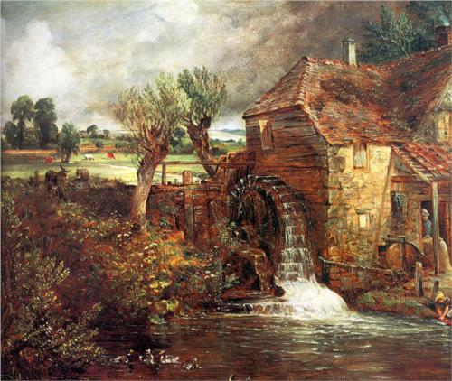 Mill at Gillingham, Dorset - John Constable