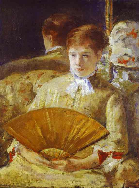 Miss Mary Ellison - Mary Cassatt