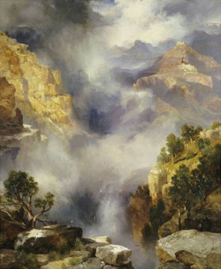 Mist in the Canyon - Thomas Moran