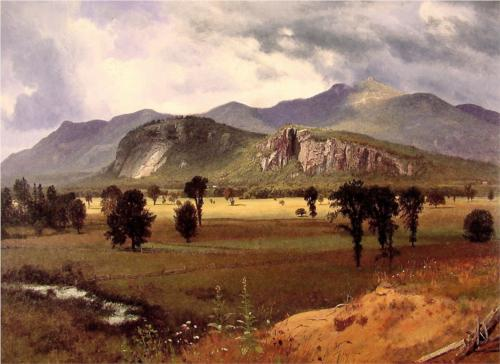 Moat Mountain Intervale, New Hampshire - Albert Bierstadt