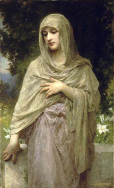 Modesty - William Adolphe Bouguereau