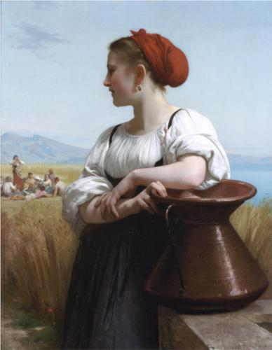 Moissoneuse - William Adolphe Bouguereau