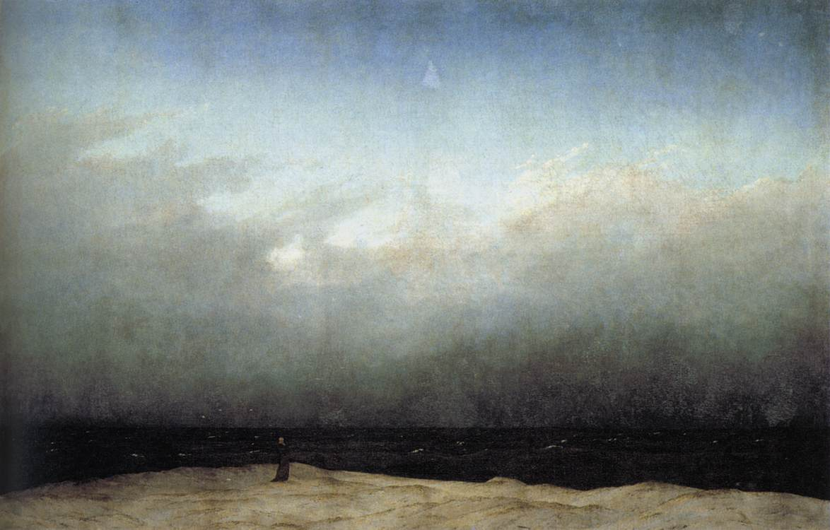 Monk by the Sea - Caspar David Friedrich