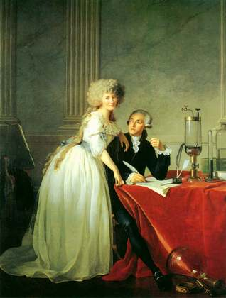 Monsieur Cavoisier and His Wife - Jacques Louis David