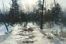 Morning After Snow - William Bliss Baker