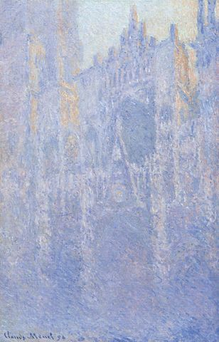 Morning Effect, Rouen Cathedral - Claude Monet