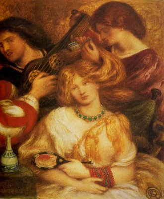 Morning Music - Dante Gabriel Rossetti