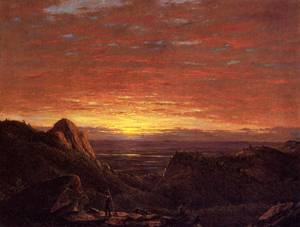 Morning over the Husdon Valley from the Catskills - Frederic Edwin Church