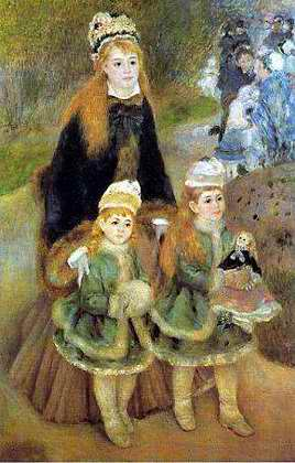 Mother and Children - Pierre Auguste Renoir