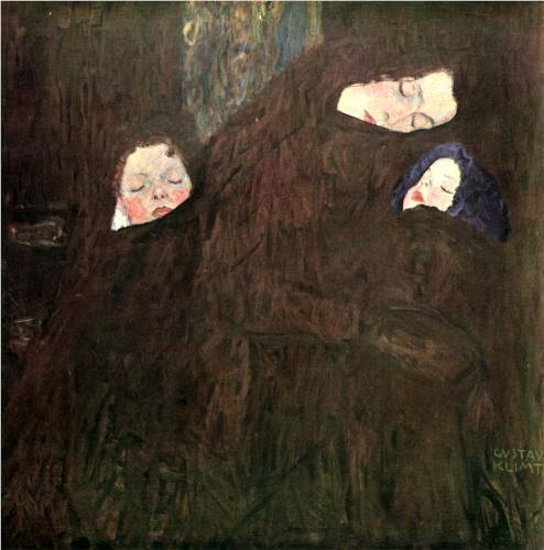 Mother with Children - Gustav Klimt