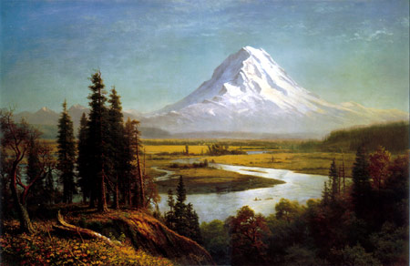 Mount Rainier - Albert Bierstadt
