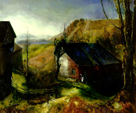 Mountain Farm - George Bellows