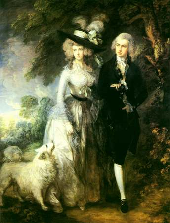Mr. & Mrs. Hallet - Thomas Gainsborough