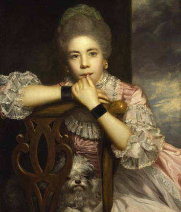 Mrs Abington as Miss Prue - Joshua Reynolds