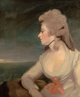 Mrs. Mary Robinson - Joshua Reynolds