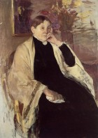 Mrs Robert Cassatt the Artists Mother - Mary Cassatt