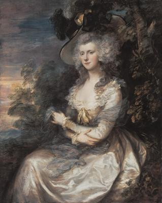 Mrs Thomas Hibbert - Thomas Gainsborough