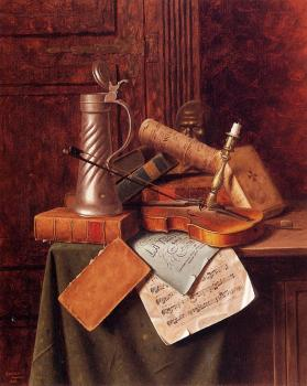 Munich Still Life - William Harnett