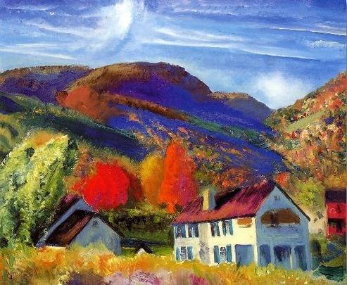 My House Woodstock - George Bellows