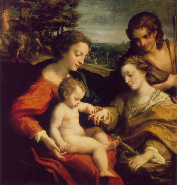 Mystic Marriage of St. Catherine - Correggio