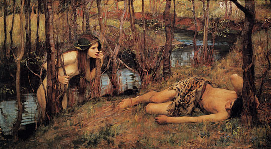 Naiad - John William Waterhouse