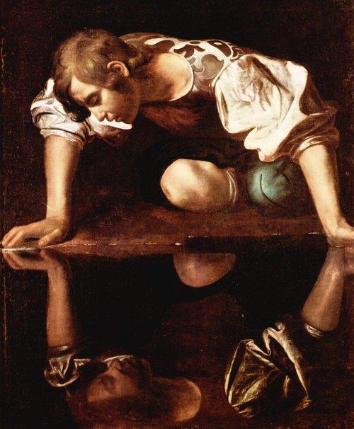 Caravaggio - Narcissus