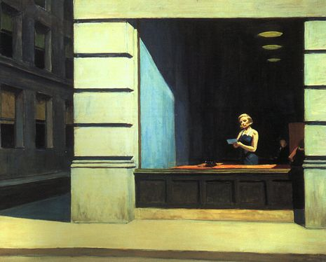 New York Office - Edward Hopper