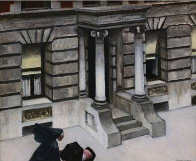 New York Pavements - Edward Hopper