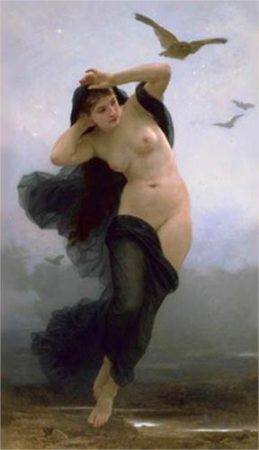 Night - William Adolphe Bouguereau