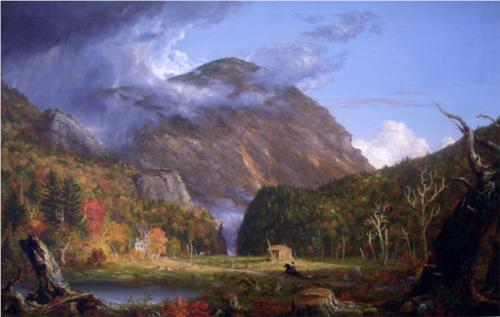 Notch of the White Mountains (Crawford Notch) - Thomas Cole