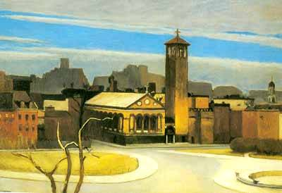November, Washington Square - Edward Hopper