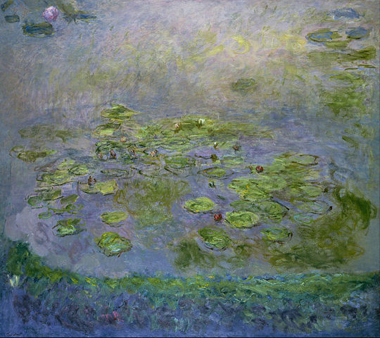 Nympheas 1917 - Claude Monet