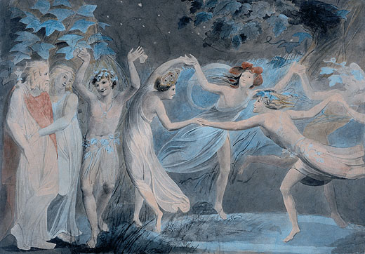 william blake. William Blake - Oberon