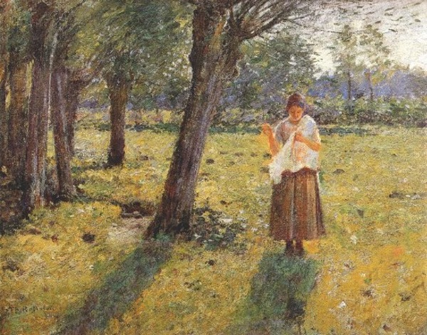 October Sunlight - Theodore Robinson