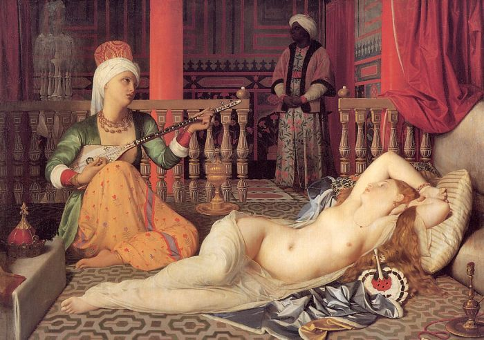 Odalisque and Slave - Jean Auguste Dominique Ingres