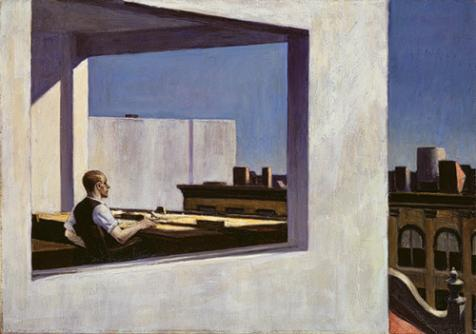 Office in Small City - Edward Hopper