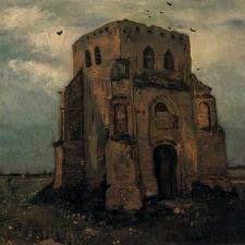 Old Cemetery Tower at Nuenen - Vincent van Gogh